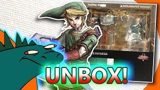 The Legend of Zelda Twilight Princess Link Figma DX Ver. UNBOXING