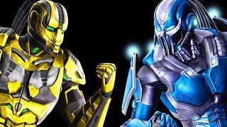 "THE BEST TRIBORG MATCH EVER! - Mortal Kombat X ""Cyrax"" Gameplay"