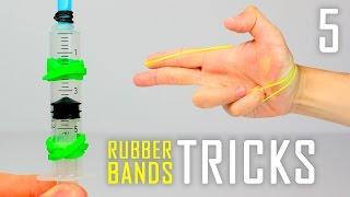 5 Rubber Bands Life Hacks