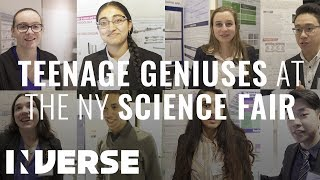 Teenagers Read Their 2018 Science Fair Projects Titles (NYSSEF) | Inverse