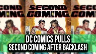 DC Comics pulls SECOND COMING after Christian Backlash