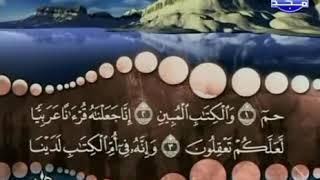 سورة الزخرف كاملة ترتيل الشيخ محمد صديق المنشاوي من قناة المجد للقرآن الكريم
