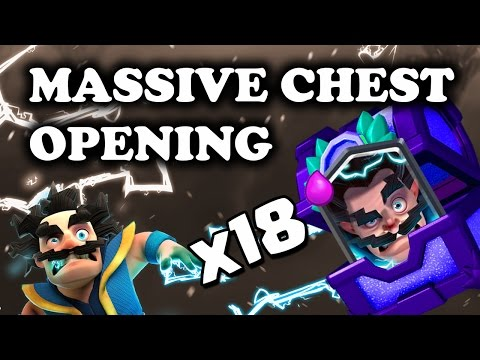 Clash Royale 12 Win Electro Wizard Chest Opening 18 000 Cards