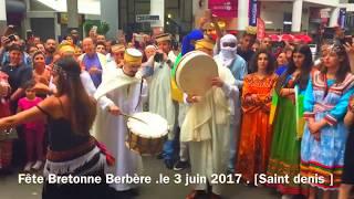 TOP DANSE KABYLE**Fête** BRETONNE-KABYLE - LE O3 JUIN 2017 -Saint denis