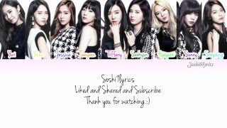 Girls' Generation (少女時代) - Chain Reaction Lyrics [Color Coded/ENG/ROM]