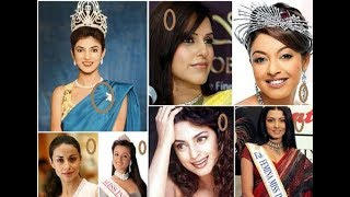 Miss India Winners since 1947 to now