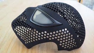 Spider-Man Face Shell Magnetic Eye Frames - Assembling 3D Printed Mask