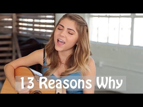 Selena Gomez- Back To You  | 13 Reasons Why | cover by Jada Facer