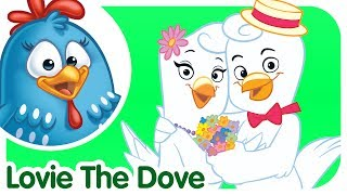 Lovie the Dove - Lottie Dottie Chicken - Kids songs and nursery rhymes in english