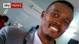 'He stood up to Sudan's government...soldiers shot him dead.'