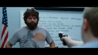 The Hangover - Taser Scene ( Police Station )