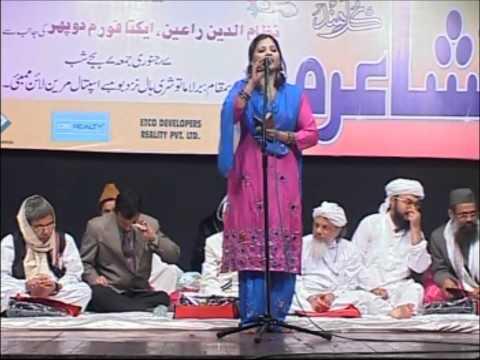 All India Mushaira  2011 Rana Tabassum Part 5.wmv