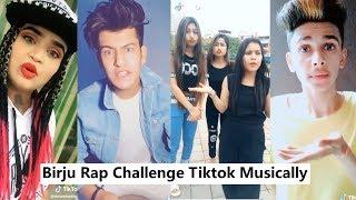 Birju Rap Challenge Musically Tiktok | Manjul Khattar, Lucky Dancer, Ritu, Mayank