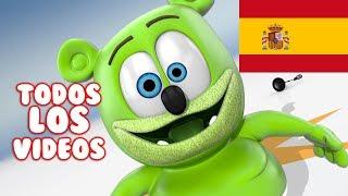 Spanish Gummy Bear Songs TODOS LOS VIDEOS Osito Gominola Song Extravaganza