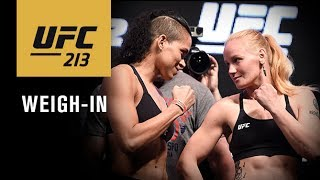 UFC 213: Official Weigh-in