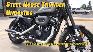 Unboxing 2017 Harley Davidson Roadster