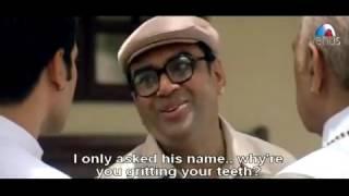 Hulchal full Comedy scene   Amrish Puri slaps Paresh Rawal