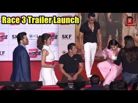 Xxx Mp4 Full Uncut Race 3 Official Trailer Launch Salman Khan Anil Kapoor Bobby Deol Jacqueline 3gp Sex