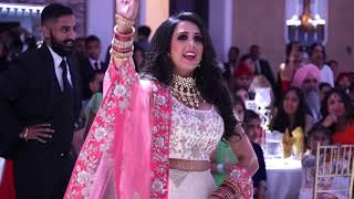 Punjabi Couple [Sukha & Jasmeet] Dance Performance