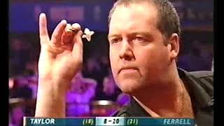 Taylor vs Ferrell Darts World Championship 2002 Round 1