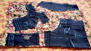 Princess cut blouse cutting 32 isnchage