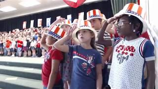 DBES K and 1 Patriotic Performance 2/21/18