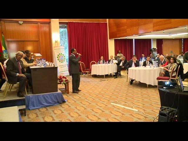 Visite du Roi en Ethiopie, forum économique du secteur privé