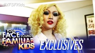 Your Face Sounds Familiar Kids Exclusive: Celebrity Kid Performers Transformation Into Icons Week 10