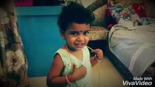 Sun TV Vamsam serial baby devika funny video