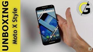 Unboxing Motorola Moto x Style