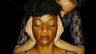 Real ASMR Ear Cupping & Ear Massage Sounds – Human Binaural Microphone
