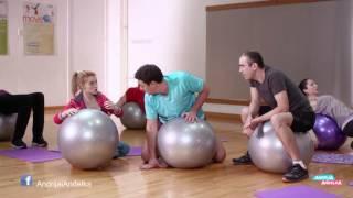 Andrija i Andjelka -  Ko koga rasteze na aerobiku?