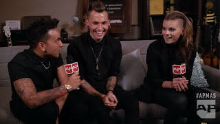 APMAs 2015: PVRIS tell ghost stories in the GIBSON Backstage Artist Lounge