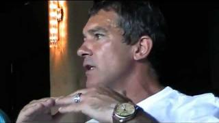 ANTONIO BANDERAS on working with Almodóvar at THE SKIN I LIVE IN // Cannes 2011