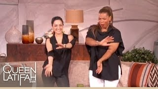 Archie Panjabi Spices Things Up On The Queen Latifah Show