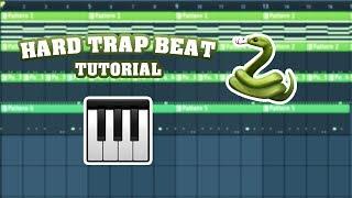 Hard Trap Beat Tutorial in FL Studio 20 (Free Project Download)