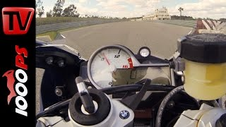 BMW S 1000 RR 2015 | 0-260km/h | Launch Control Start