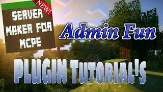 Admin Fun - Server Maker For MCPE