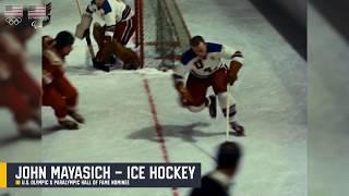 John Mayasich - Ice Hockey - U.S. Olympic & Paralympic Hall of Fame Finalist
