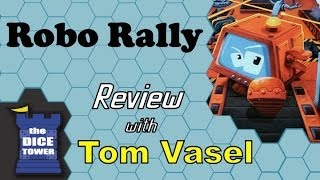 Robo Rally  Review   with Tom Vasel