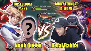 Noob Queen Top 1 Global Fanny VS Fanny Terkuat Di Bumi - Mobile Legends Indonesia