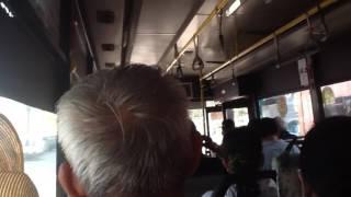 Xe buýt số 616 : 53N-4975 rời khỏi khu du lịch Đại Nam