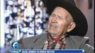 Vive El Ultimo Dorado de Pancho Villa: es Guillermo Flores Reyes de 112 años
