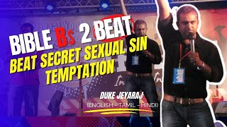 The Secrets Of Overcoming Secret Sins (English - Hindi - Tamil) - Duke Jeyaraj