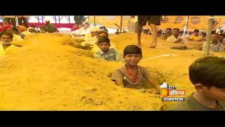 बेटी की शादी और जमीन समाधि सत्याग्रह में बीच फंसा नींदड़ गांव का कुमावत परिवार
