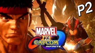Marvel vs. Capcom: Infinite 劇情模式 Part 2 - 大怪獸亂入!