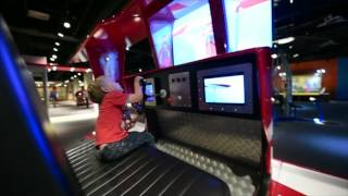 Biplane simulator