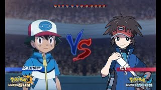 Pokemon Battle USUM: Ash Vs Nate (Pokémon Unova League)