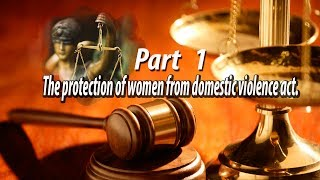 Advocate Nitai Saha, The protection of women from domestic violence act. in Bengali. Part   1