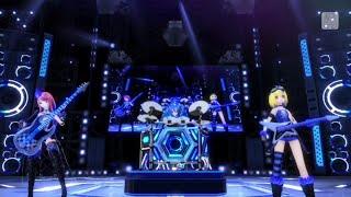 (Project Diva X - Luka, Miku y Rin) Cool Medley: Cyber Rock Jam (Sub español)